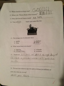 Science Test Page 2